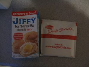 Jiffy Biscuit Mix and Lipton Soup Secrets