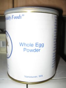 Whole Egg Powder - Do not inhale